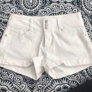 White Fashion Nova Shorts